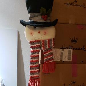 Snowman head decor